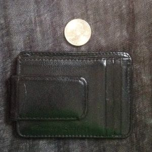 Men's slim leather wallet ***MUST BUNDLE***